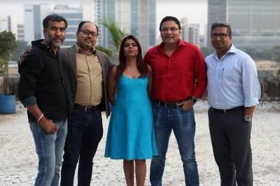 (L-R)- Krishna Padhye, Sudarshan Banerjee, Mitali Srivastava Hough, Sean Colaco, Krishnaraj Bhat