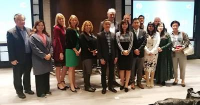 Public Relations Network Members at 2108 Jan Winter meet in Hong Kong
