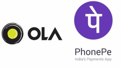 Image result for PhonePe App Now Lets You Make Ola Bookings, Gets AutoPay Feature