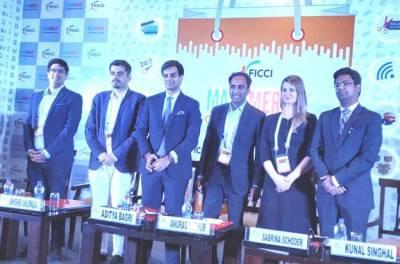 Mr.Abhishek Ahluwalia, Head – eCommerce, India - Mondelēz International; Mr. Aditya Bagri, CEO – Bagrrys; Mr. Anurag Mathur, Partner & Leader,  Retail & Consumer, PwC;  Ms. Sabrina Schöder, Managing Director & Partner - Happy Thinking People As