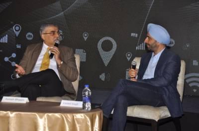 L to R: Ashish Bhasin, Gurmit Singh