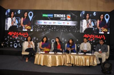 L to R: Vasuta Agarwal, Chanan Sawhney, Mayoori Kango, Priyanka Agrawal, Rohan Mehta, Sandip Tarkas