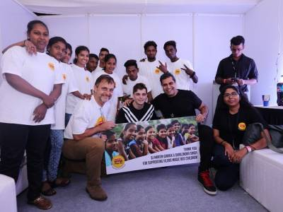 40,000+ attend  Martin Garrix's Charity Event in Mumbai