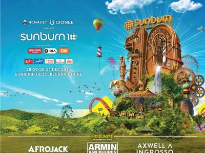 Rs 110 cr invested in Sunburn for its 10th Season