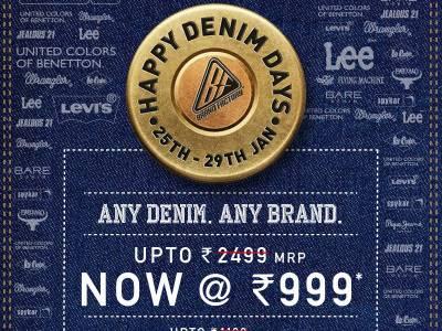 Brand Factory organizes Happy Denim day Sale
