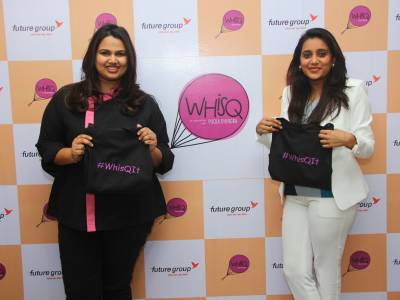 Celebrity Chef Pooja Dhingra and Future Group launches WhisQ