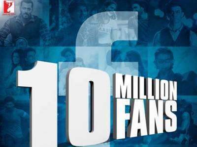 YRF Celebrates 10 Million Fans on Facebook
