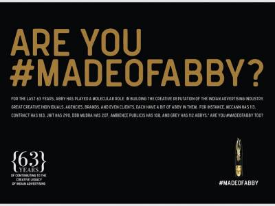 The Ad Club showcases how ad fraternity has been touched by the Abbys