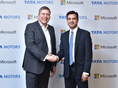 Tata Motors, Microsoft India collaborate to redefine the connected experience for automobile users