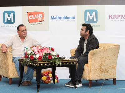 Club FM 99.6 of Mathrubhumi Group to host AR Rehman Show on 17th March, 2017