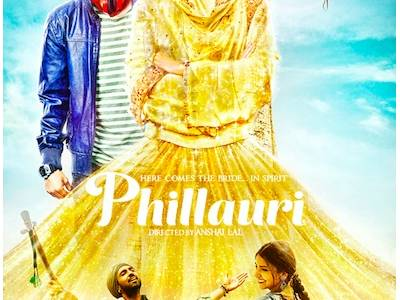 Anushka and Diljit launch new Phillauri poster!
