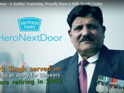 #HeroNextDoor: WATConsult's republic day campaign for Mother Dairy