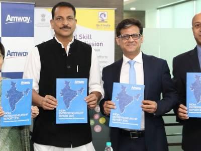 Two-Thirds Indians view entrepreneurship positively according to the Amway India Entrepreneurship Report 2015