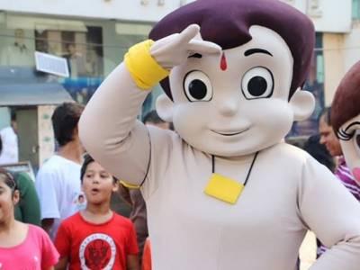 Chhota Bheem celebrates his 'Super Birthday' on the streets of Mumbai