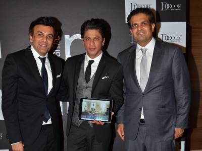 Shahrukh Khan launches unique digital interface, D'Assist by D'Decor