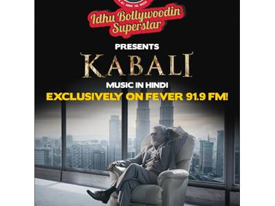 Fever FM to bring alive Rajnikanth's 'Kabali' magic on air