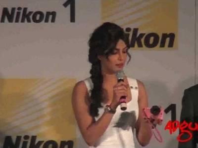 Adgully Report | Priyanka Chopra at the launch of Nikon's newly launched Digital Camera, Nikon1