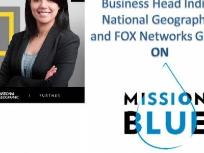 Swati Mohan on Mission Blue