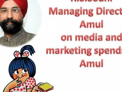 R.S.Sodhi, MD, Amul on media and marketing spends