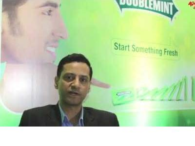 Yogesh Tewari, Marketing Director, Wrigley India on  market response to the Doublemint Mints
