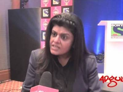Adgully Exclusive | Sony's Sneha Rajani during the launch of KBC 2012