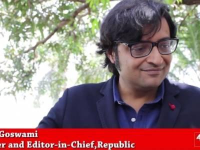 Arnab Goswami on Republic