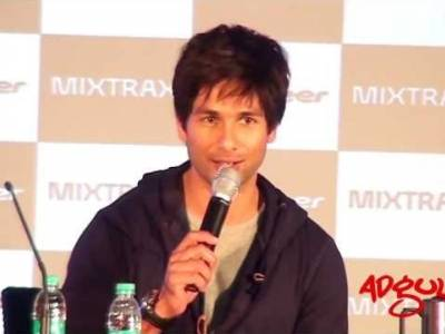 Adgully Report |Shahid Kapoor at the launch of Pioneer's new sound system