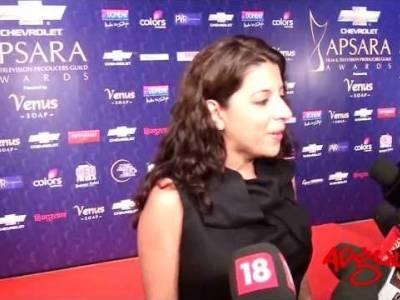Adgully Report | Zoya Akhtar at Apsara Awards 2012