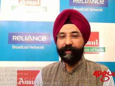Adgully Exclusive | Mr. R. S. Sodhi during the launch of Amul's new ad