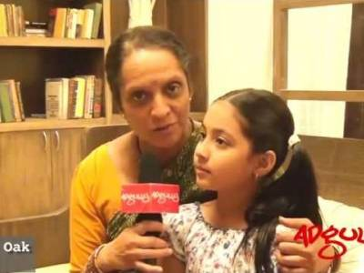 Adgully Exclusive |  In conversation with Smita Oak at the launch of TV's show mi, aaji aur saheb