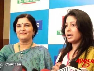 Adgully Report | Sunidhi Chauhan and Preeti Sagar first look of Amul's  'Mero Gaam Kathapara's video