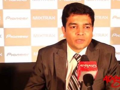 Adgully Report |Gaurav Kulshrestha at the launch of Pioneer's new sound system