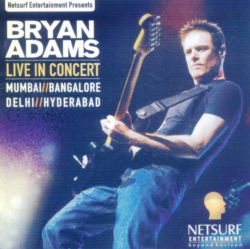 Bryan Adams India Tour