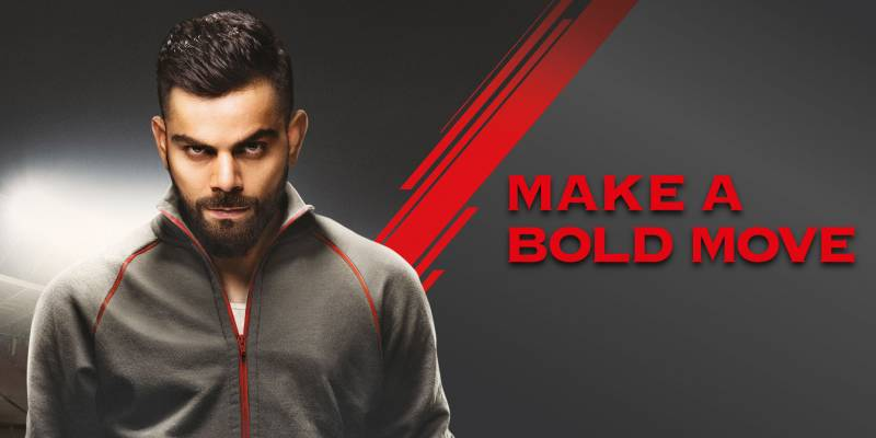 Royal Challenge Sports Drink asks millennials to play bold