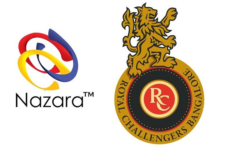 nazara games partners with rcb to build largest cricket