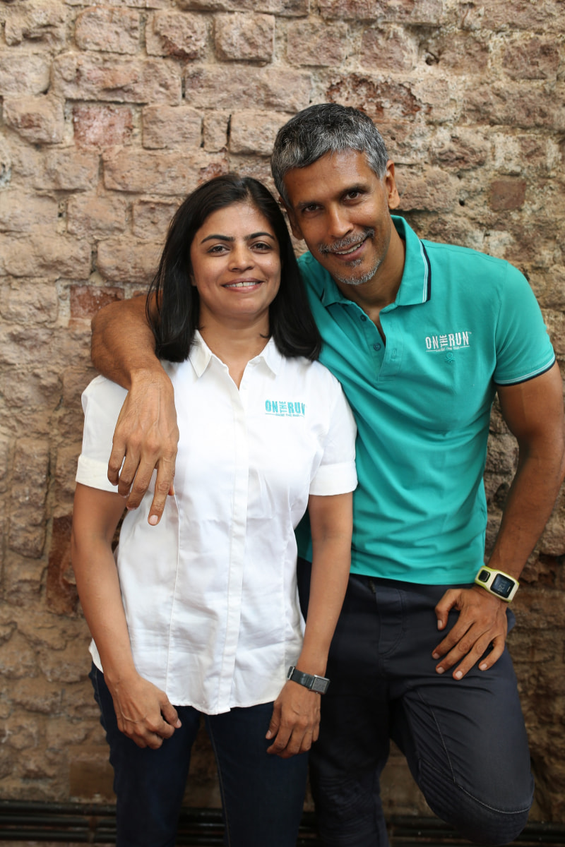 of milind soman