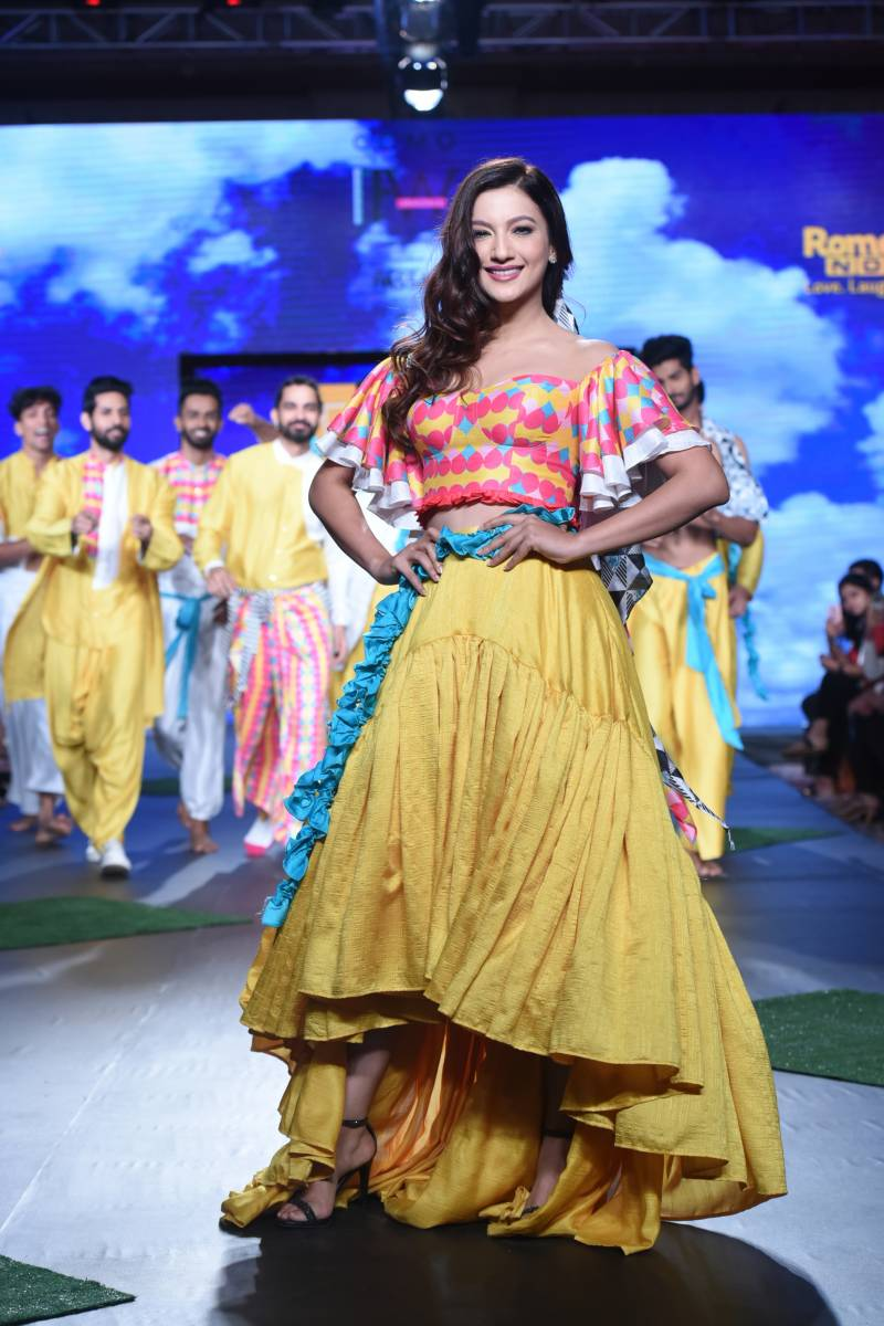 5ec943a6ee Live collection by ROMEDY NOW at India Beach Fashion Week