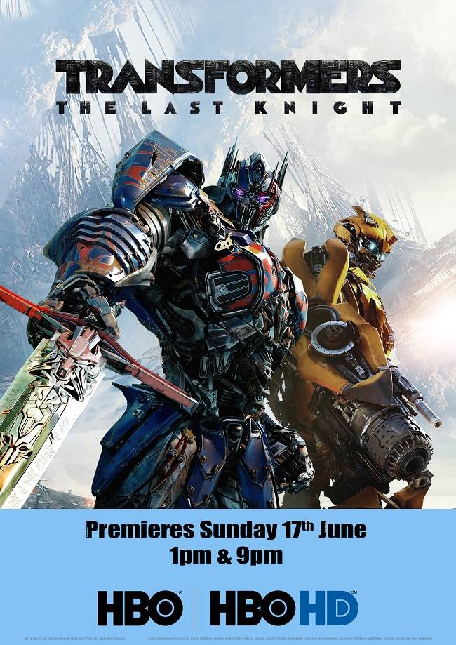 hbo hbo hd power packs june with transformers the last knight