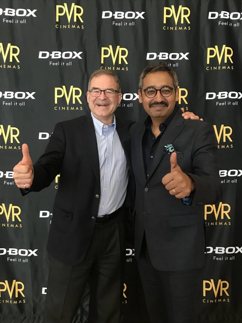 49afbddd26a PVR, D-BOX launch India's first D-BOX motion seat