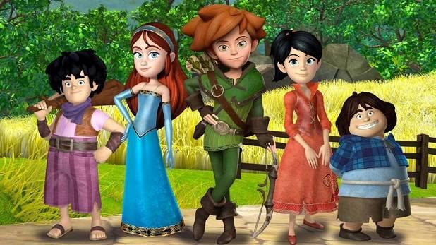 Discovery kids presents the robinhood mischiefs in sherwood
