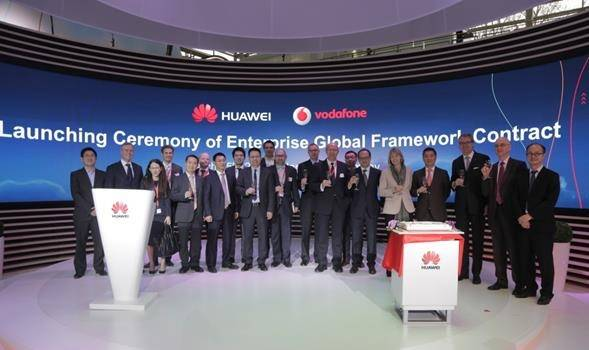 Huawei And Vodafone Extend Strategic Alliance In Enterprise Business