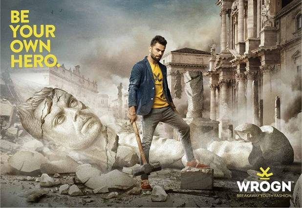 Wrogn Launches New Be Your Own Hero Ad Campaign With Virat