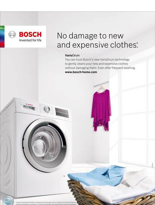 This Campaign Marks The Launch Of Bosch New Amp Wide Range